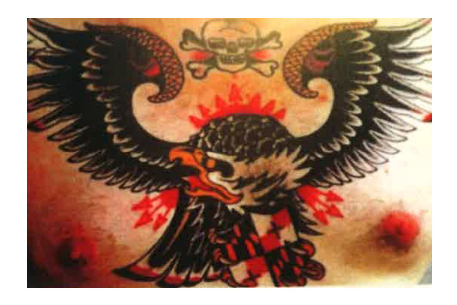 Tattoo Artist GRIMES Suing FACETASM Hiromichi Ochiai Brett Grimmelbein Maryland Eagle