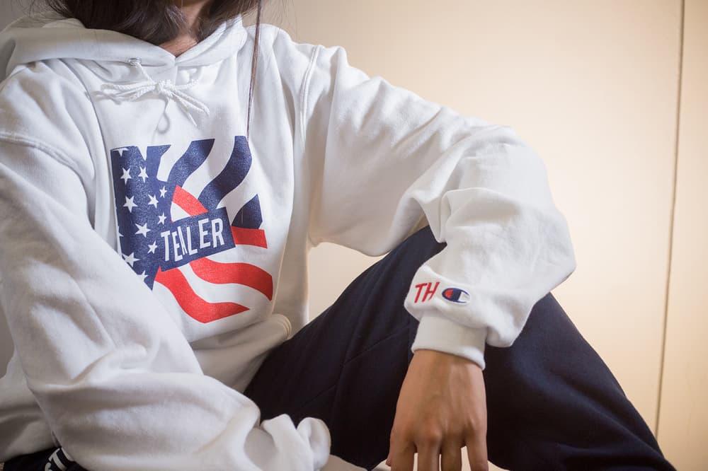 TEALER Parisian Streetwear French US America Launch 2017 October