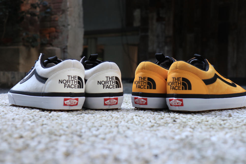 The North Face Vans 2017 Fall Collection Collaboration Sk8 Hi Old Skool Base Camp Duffel Bags Jackets Sneakers Release Info Date November 3 Drops