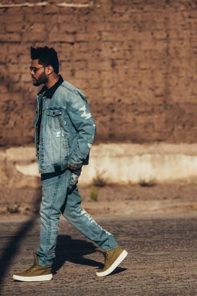 The Weeknd x PUMA Lookbook Fall Winter 2017