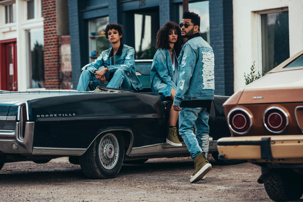 The Weeknd PUMA XO 2017 Second Drop 2017 Fall Winter Deluxe Denim Collection Collaboration