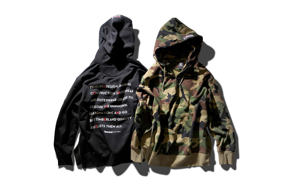 SOPHNET. Timberland Explore the Unknown Collection Fall Winter 2017