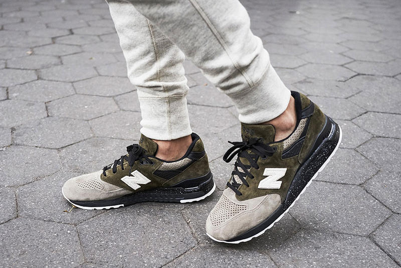 Todd Snyder New Balance Dirty Martini 998