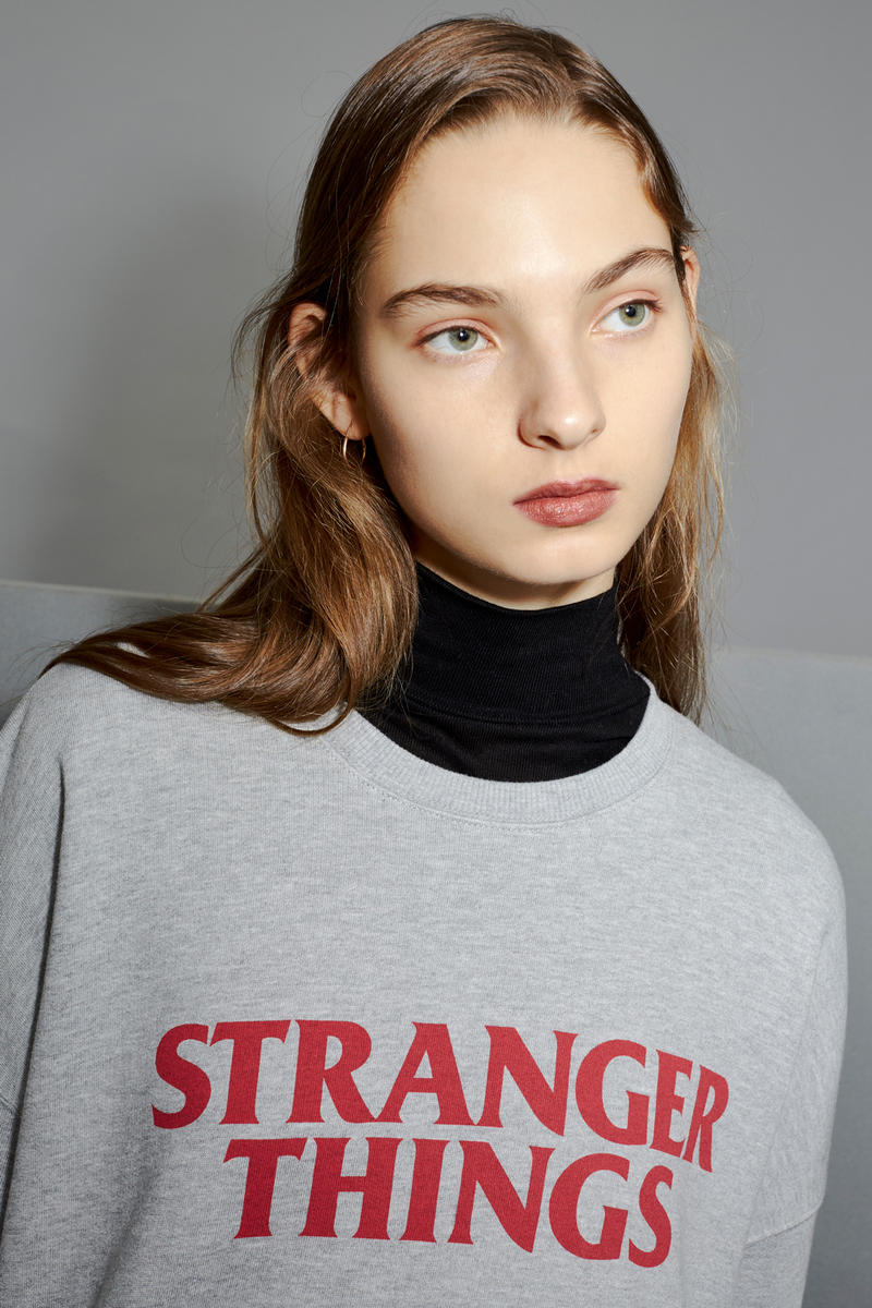 TOPSHOP TOPMAN Stranger Things Collection Netflix London Oxford Street
