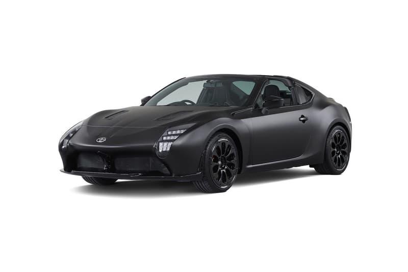 Toyota GR HV Sports Concept 86 Targa Hybrid 2017 Tokyo Auto Show Matte Black