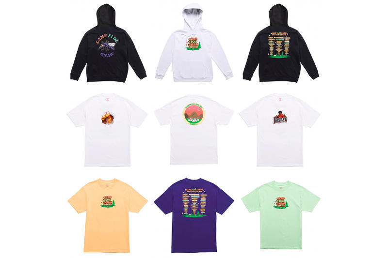 Tyler, the Creator Camp Flog Gnaw Carnival Collection October 2017 Los Angeles