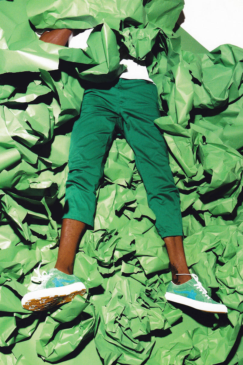Tyler, The Creator x Converse GOLF le Fleur Signature Sneaker Apparel Collection