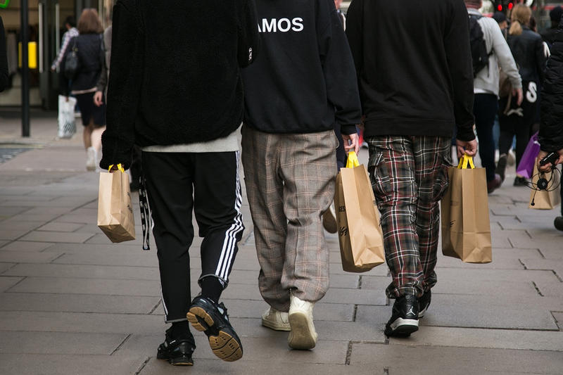 UK Fashion Trends Raf Simons Balenciaga Heron Preston Selfridges Browns MATCHESFASHION.COM MACHINE-A style Britain