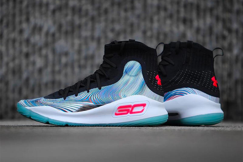 Under Armour Curry 4 Asia Exclusive footwear Stephen Curry NBA Golden State Warriors China Release Info Date October 17