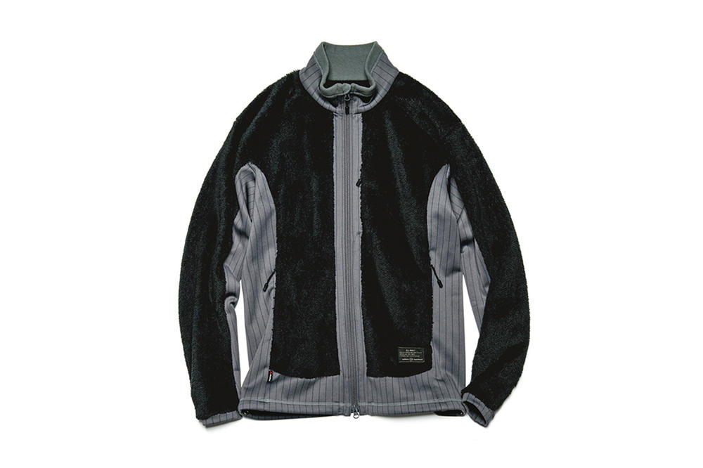 uniform experiment Fall Winter 2017 Polartec Fleece Stripe Capsule Collection Panel Blouson Hoodie Vest Slim Fit Pant October 13 Release Date Info SOPH