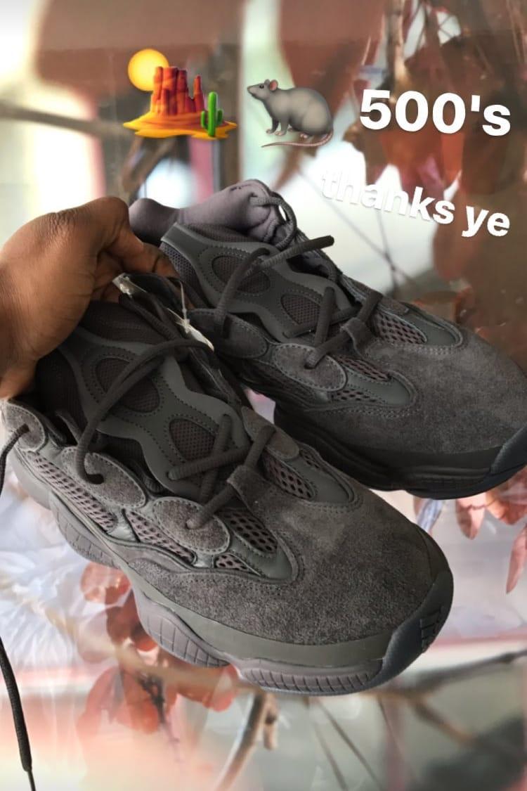 YEEZY 500 Runner in Grey Revealed