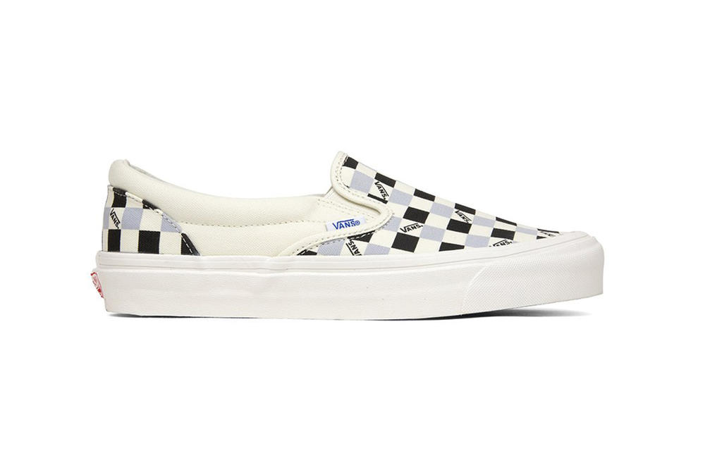 Vans Vault OG Classic Slip On LX Tri Check White Grey Black Sneakers Shoes Footwear 2017 October Fall Release Date Info Feature