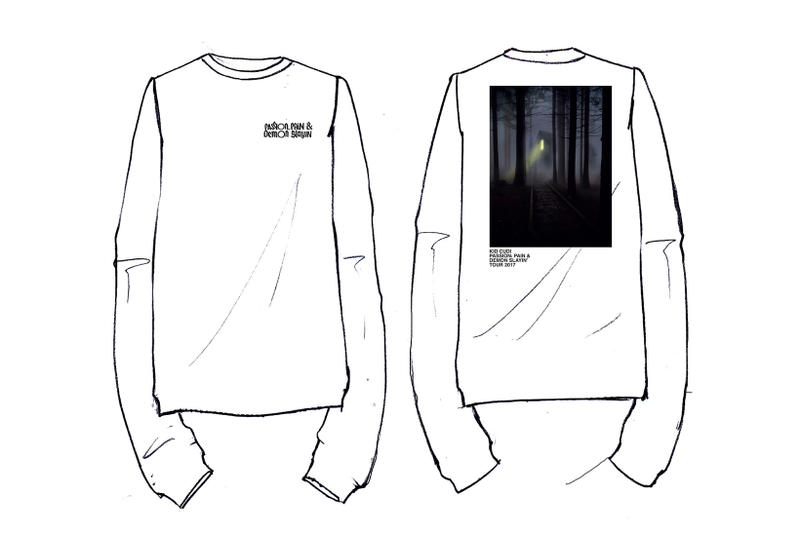 Kid Cudi MR. RAGER Collection by Virgil Abloh Collaboration Design Release Date Drop Info 2017 October 29 Camp Flog Gnaw Los Angeles Passion Pain & Demon Slayin