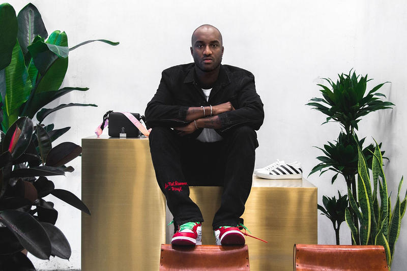 Virgil Abloh 2017 Footwear News Achievement Award FNAA Off White Air Jordan 1 Nike