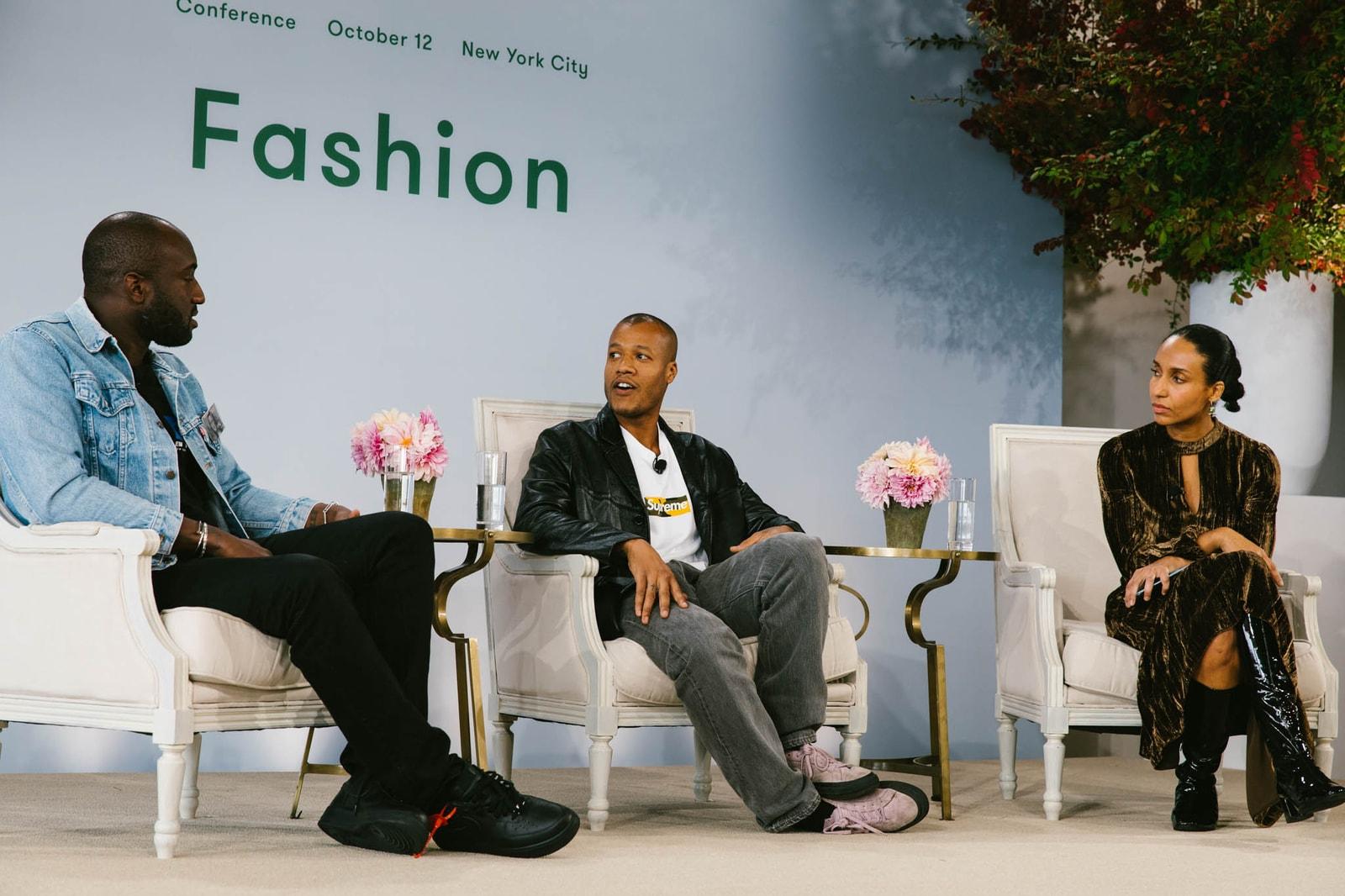 Vogue Forces of Fashion Virgil Abloh Demna Gvasalia Heron Preston Rihanna