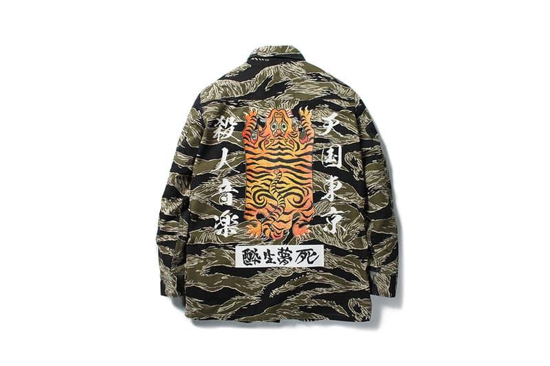 WACK MARIA Fall Winter 2017 Military Jackets Sweaters Shirts