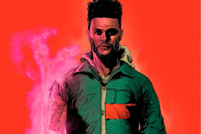 The Weeknd Starboy Marvel Comic Book Graphic Novel