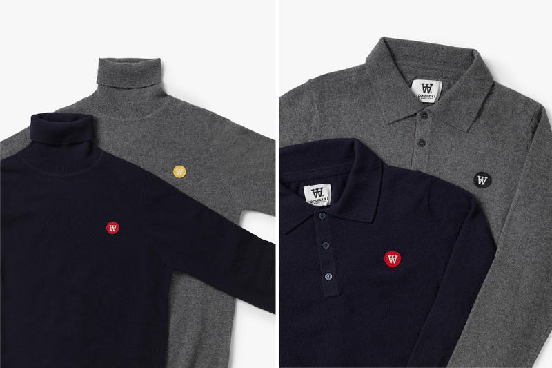 Wood Wood Double A Basic Staples Line Collection Product Shots Fall/Winter 2017