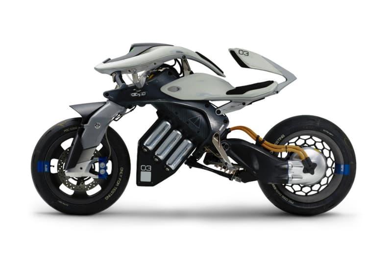 Yamaha Futuristic Motoroid Motorcycle Concept 2017 Tokyo Motor Show Bike AI
