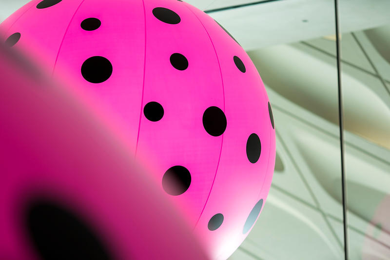 Yayoi Kusama Infinity Mirrors Exhibit Los Angeles Pumpkins Polka Dots LA the Broad