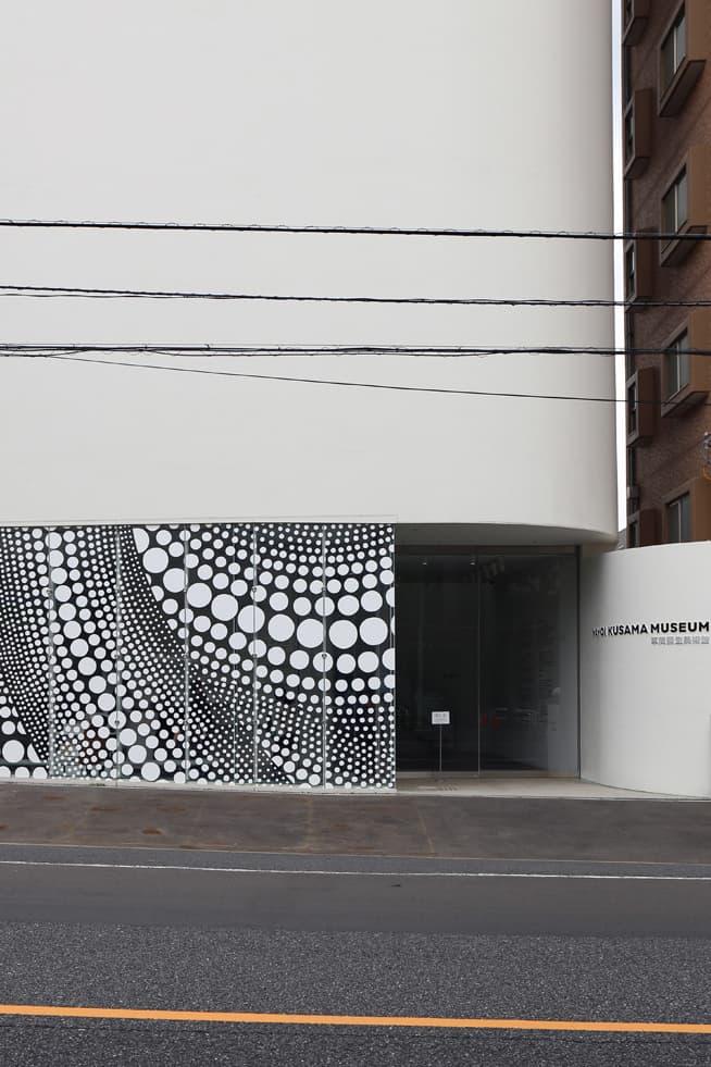 Yayoi Kusama Polka Dot Shinjuku Tokyo Museum 2017
