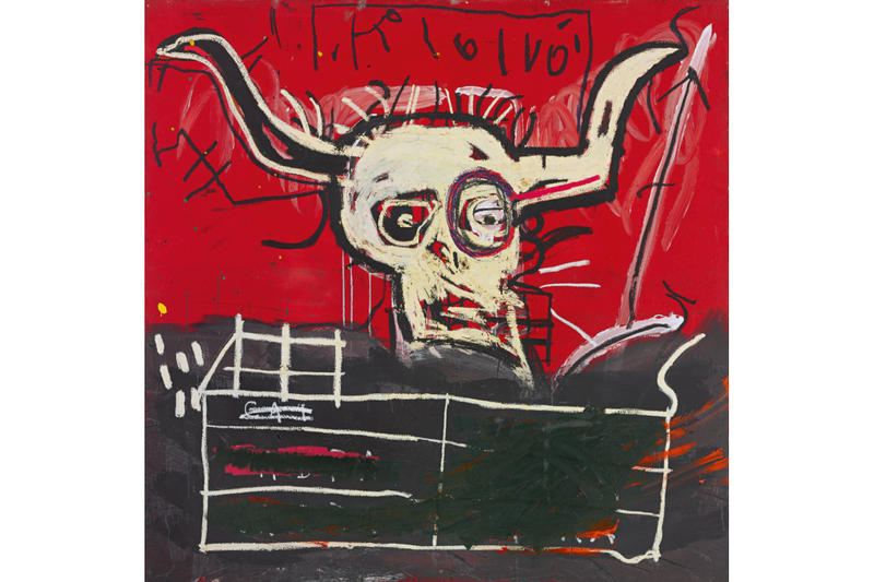 Yoko Ono Jean Michel Basquiat Cabra Painting Sothebys Auction New York City Art Artwork