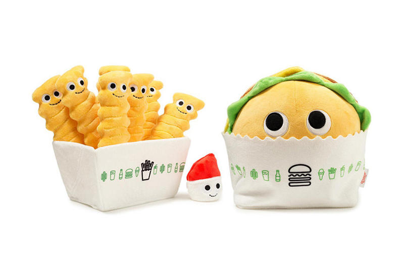 Shake Shack Kidrobot Yummy World Burger Fry Plushes 2017 October Release Fries