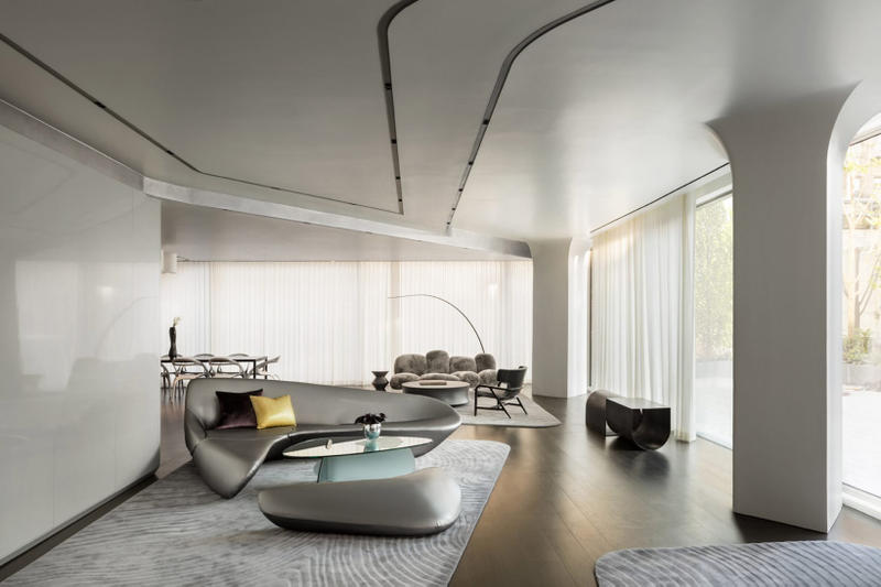 Zaha Hadid Architects New York City Condo Building High Line Park Architecture Design Interior Amenities
