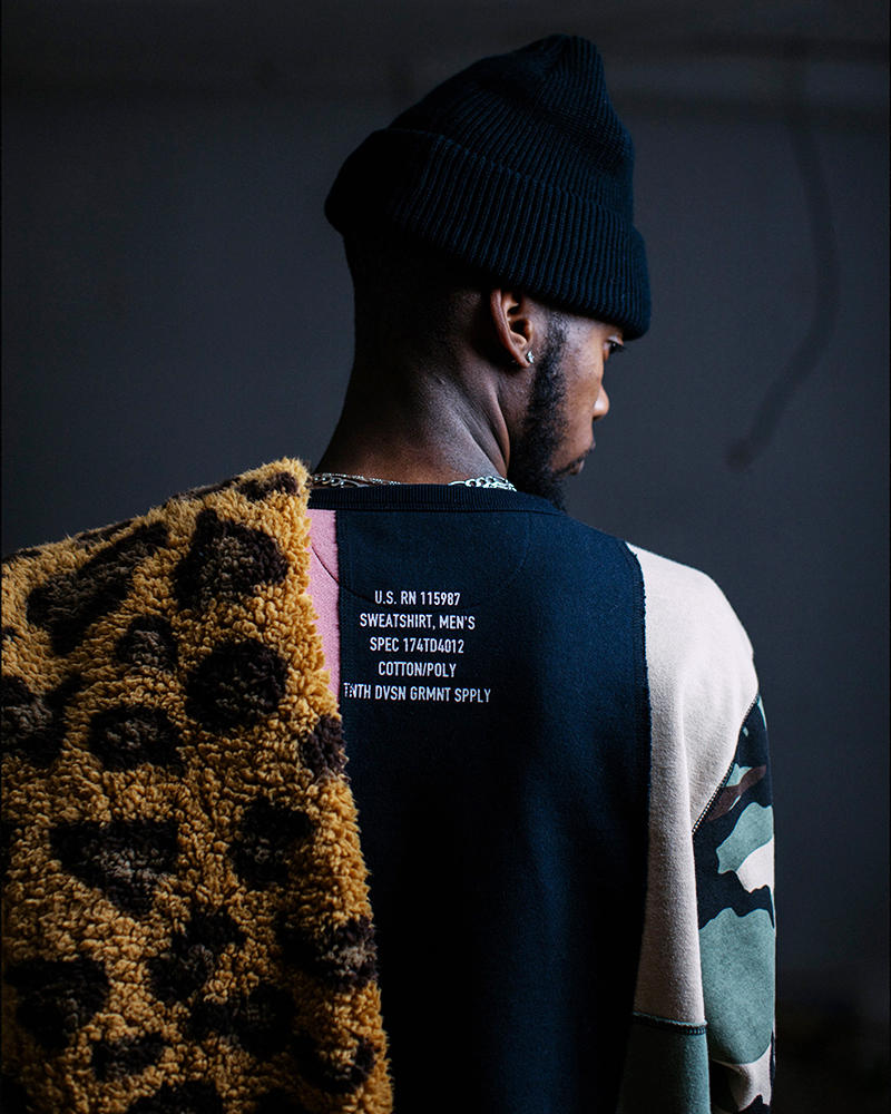 10 Deep Drops Holiday 2017 Lookbook in memoriam collection alls wells ends well streetwear clothing leopard scarf cyber monday winter fashion fall