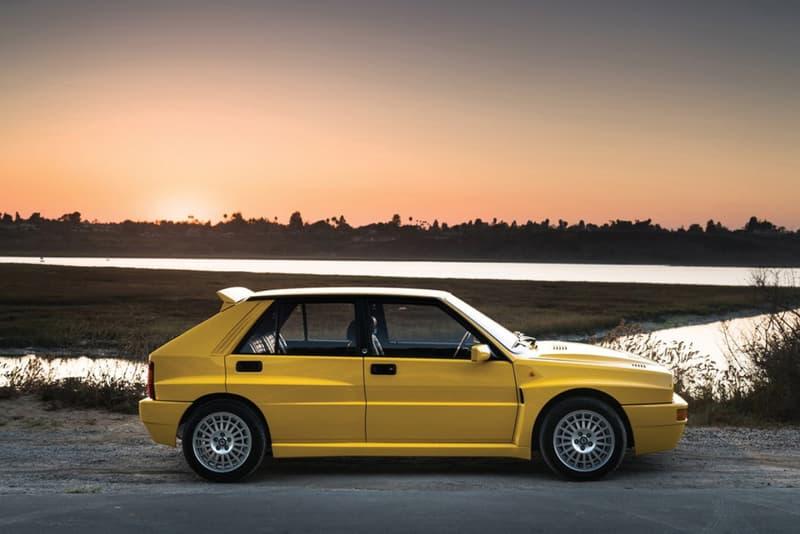 1992 Lancia Delta HF Integrale Evoluzione Auction Bid New York City RM Sotheby's