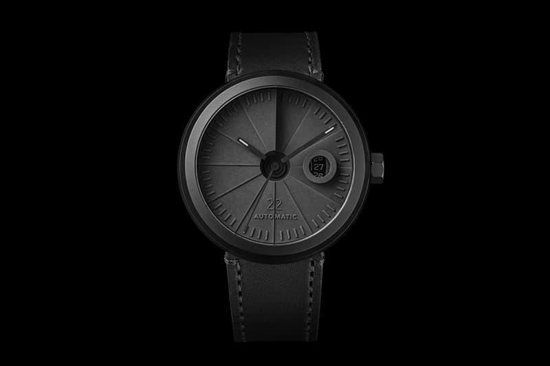 22 Design Studio 4D Concrete Automatic Watch