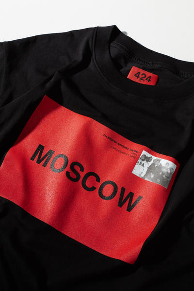 424 KM20 Collaboration Moscow T Shirt Hoodie Sweatshirt Black Red 2017 November 4 Release Date Info