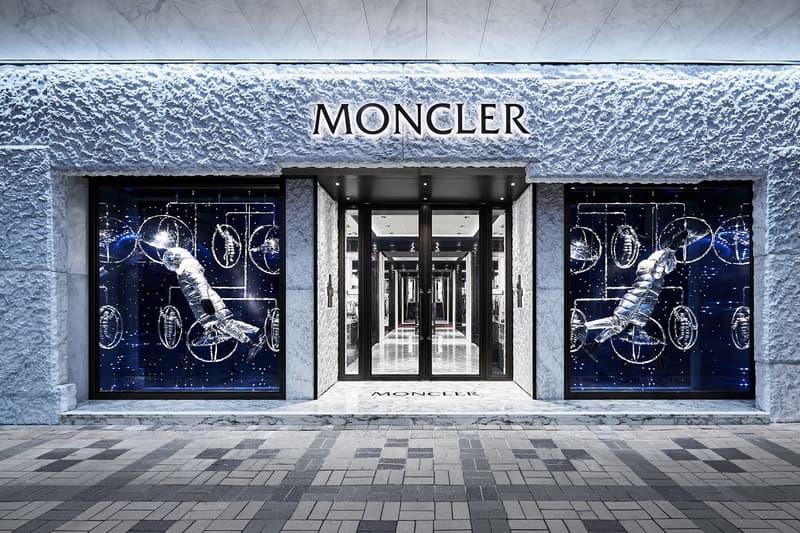 Moncler Destination Hong Kong Mr. Moncler event store opening flagship art performance