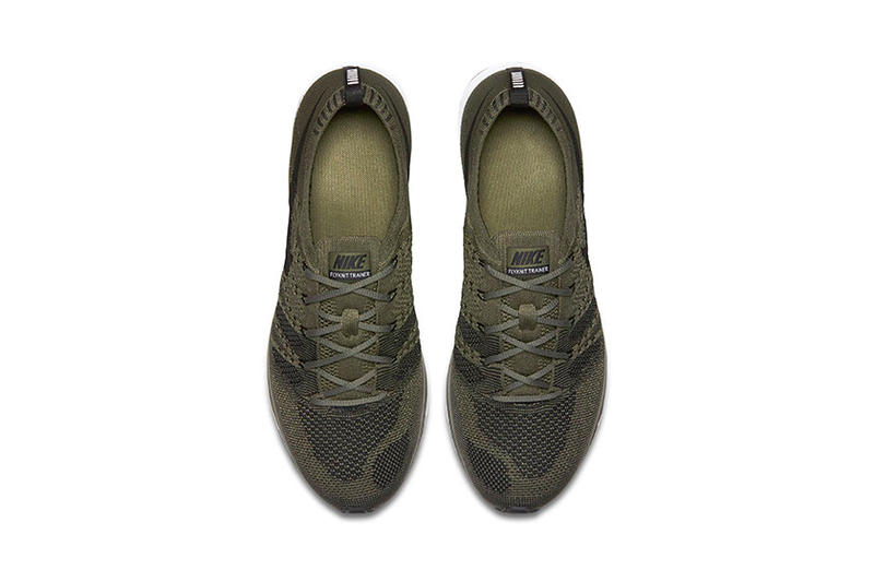 Nike Flyknit Trainer Medium Olive