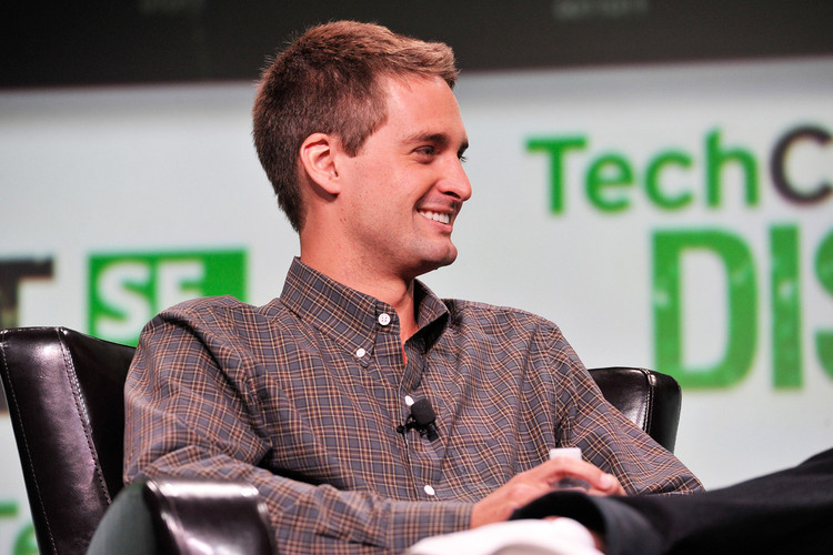 70b06140244 Snapchat founder Evan Spiegel Selling Shares of His Own Company
