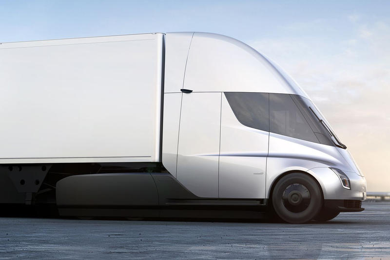 Tesla Semi Electric Truck Price Elon Musk 150000 180000 Jerome Guillen Model S