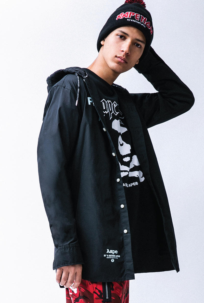 AAPE by A Bathing Ape Winter 2017 Collection Lookbook
