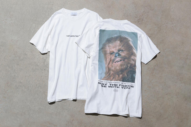ADAM ET ROPÉ Rope Star Wars The Last Jedi T-shirts Japan Photo Portrait Zozotown white 2017 December 15 release date drop info han solo chewbacca may the force be with you