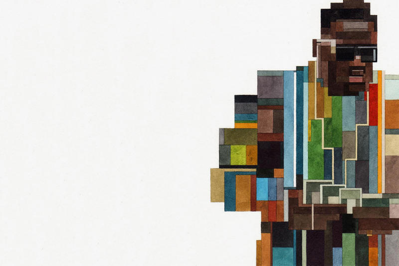 Adam Lister CONFIGURATION Arsham Fieg Gallery New York City 2017 November 16 Opening Ronnie Daniel KITH 8-bit retro watercolor painting Notorious BIG Biggie Smalls