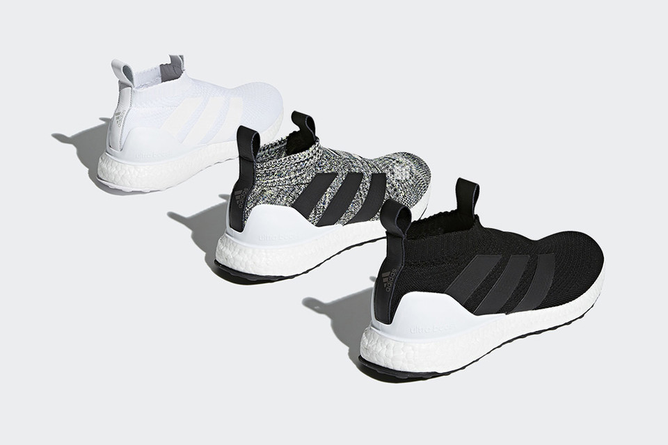 sale retailer 434c1 d9b5a adidas ACE 16+ UltraBOOST in White, Black  Grey  HYPEBEAST