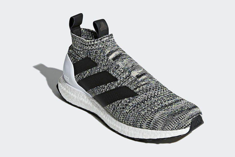 reputable site 7bb50 88b6f adidas ACE 16 UltraBOOST White Black Grey 2017 November 17 Release Date  Info Sneakers Shoes Footwear