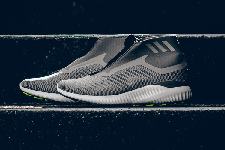 more photos 2a552 8b138 adidas Releases Alphabounce Zip In Subtle New Gray Colorway