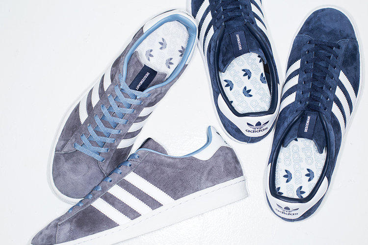 DESCENDANT adidas Originals Campus 80s Sneaker Japan Shoe WTAPS Tetsu Nishiyama collaboration release date drop info 2017 December 1