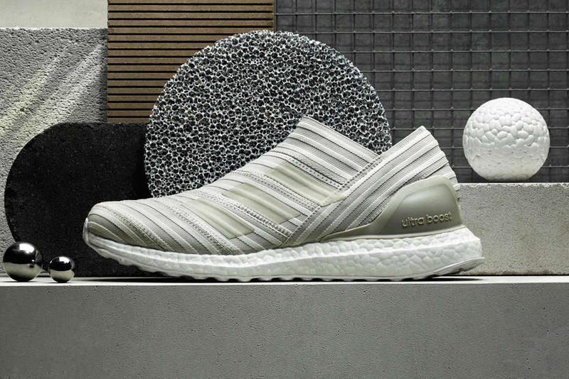 adidas Consortium Nemeziz Tango 17 UltraBOOST footwear white end clothing sneakers shoes silver grey gray