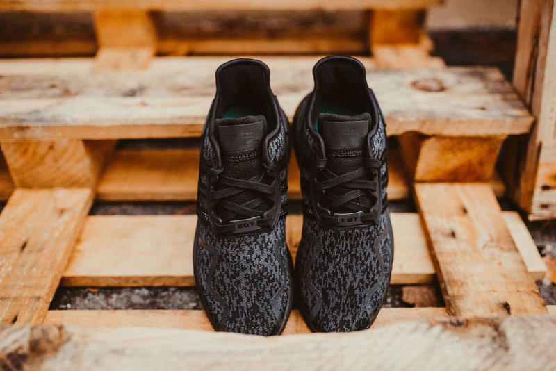 Adidas EQT Cushion ADV Triple Black Black Friday November 24 2017 Release