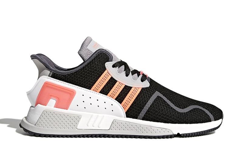 adidas Originals EQT Cushion ADV White dark grey pink orange 2017 November Release Date Info Sneakers Shoes Footwear