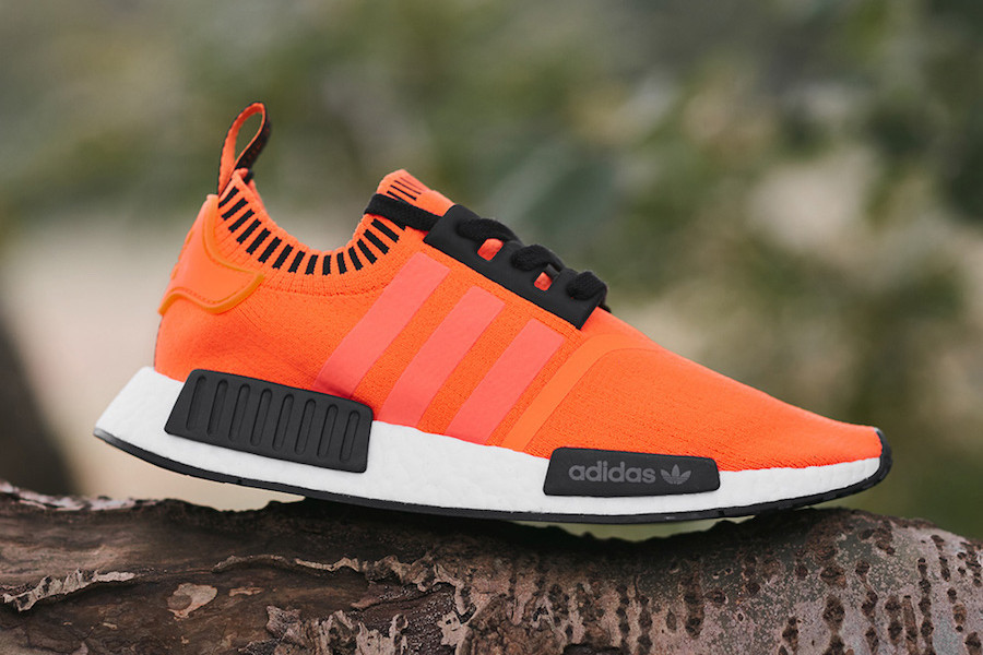 Exclusive adidas NMD R1 in Neon Orange