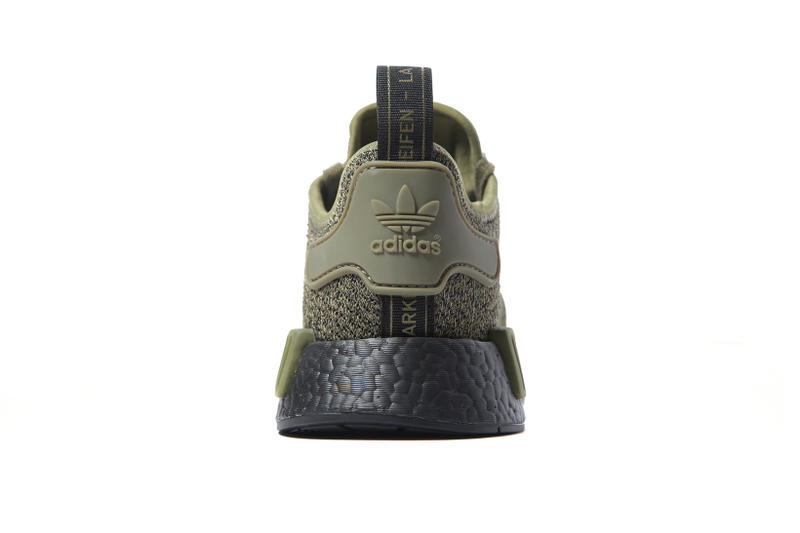adidas NMD R1 Wool Heel Olive JD Sports Fall Winter 2017