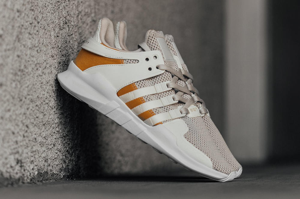 adidas Originals EQT Support ADV Off White Clear Brown Tactile Yellow 2017 November Release Date Info Sneakers Shoes Footwear