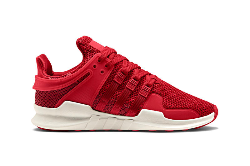 adidas Originals EQT Support ADV Pack Snakeskin Red White Black Sneakers